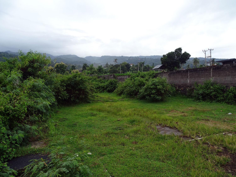 bali hillside seaview land
